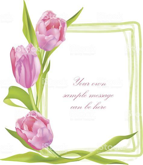 cornici fiori cornice con fiori di primavera fiori tulipani immagini