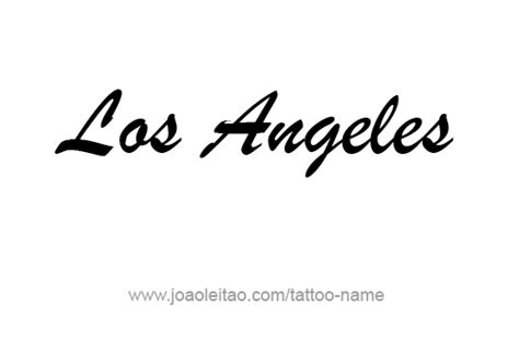 tattoo font los angeles los angeles city name tattoo designs tattoos with names