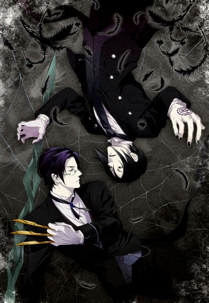 Kaos Anime Seal Black kuroshitsuji black butler toboso yana mobile wallpaper 223144 zerochan anime image board