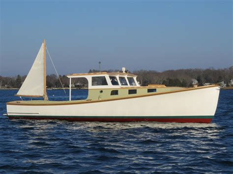 1955 rockland boat company lobster boat power boat for - Lobster Boat Conversion For Sale