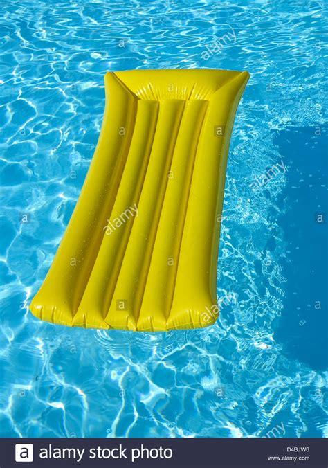 mattress in a pool lilo air bed mattress in a swimming pool
