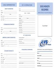 health record template health records fill printable fillable