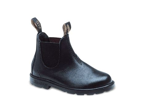 boys or black grain leather boots