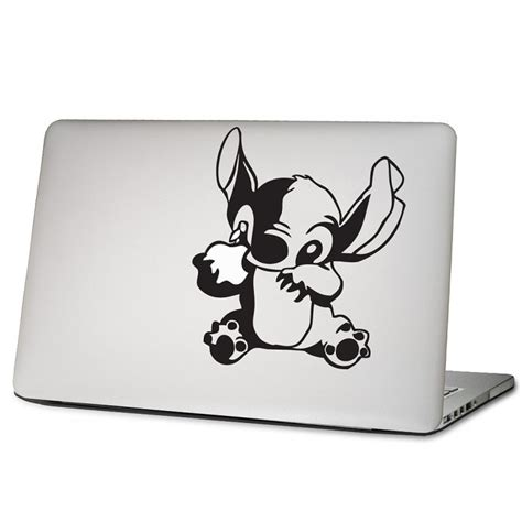 Apple Aufkleber Notebook by Lilo Stitch Laptop Macbook Sticker Aufkleber