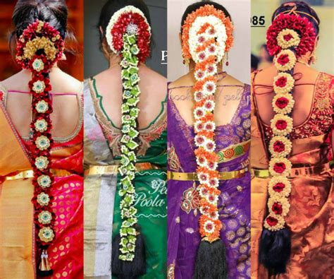 Indian Wedding Hairstyles With Flowers by 40 Beautiful South Indian Wedding Hairstyles Indian