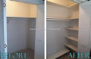 how to build your own custom closet shelving getting