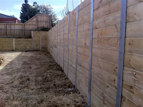 Pine Sleepers Retaining Wall by Treated Pine Sleepers Great Choice For Retaining Walls