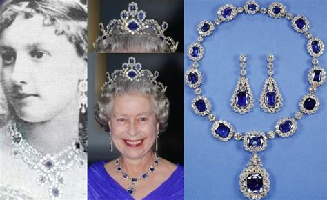 queen elizabeth ii glistens in diamonds and sapphires for the 10 most amazing royal sapphire tiaras of all time
