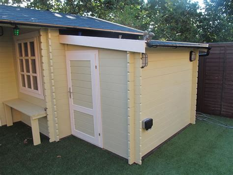 Shed Extensions by Cabin Extension Tuin Tuindeco
