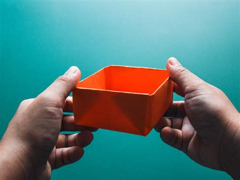 simple origami basket how to make an origami paper basket 8 steps with pictures