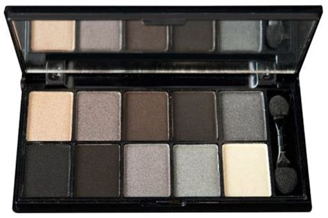 10 Useful Eye Shadow Palettes by Nyx Cosmetics Eye Shadow Palette 10 Color Smokey 15