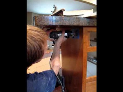 How To Install Kitchen Island Cabinets island outlets youtube
