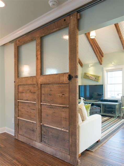 How To Make Barn Door How To Build A Reclaimed Wood Sliding Door How Tos Diy