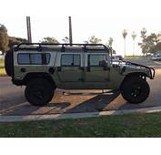For Sale—hummer H1 Cummins Search And Rescue Elite Series