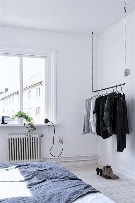 suit rack for bedroom best 25 hanging wardrobe ideas on pinterest hanging