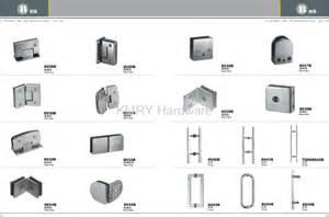Stainless steel hardware for shower door 8018 kmry