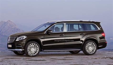 maybach mercedes jeep mercedes gls aka maybach suv rendered