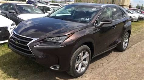 lexus brown 2015 brown lexus nx 300h awd executive standard