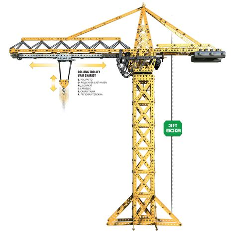 Rc Tower Crane Mainan Remote Crane welcome to meccano 174 your inventions need inventing your dreams needs