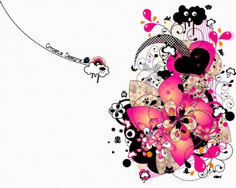 flower design abstract pink flower abstract design wallpaper 36330
