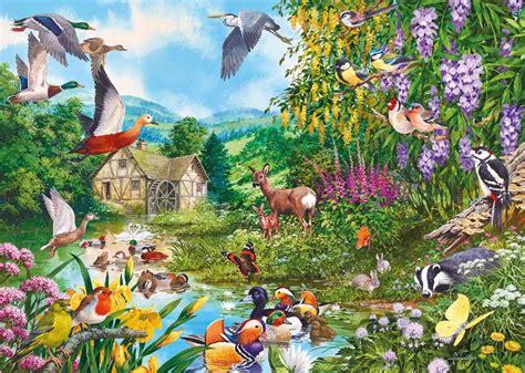 wallpaper lukisan cantik kumpulan gambar flora fauna foto binatang tumbuhan flora