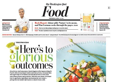 washington post health section food section newspaper in education