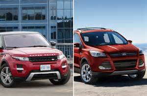 Ford Land Rover Ford Escape A Cheaper Option To Range Rover Evoque Driving