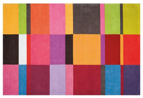 colorful rug modern rugs los angeles by viesso