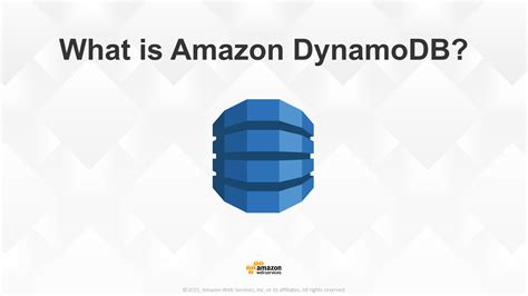amazon dynamodb what is amazon dynamodb