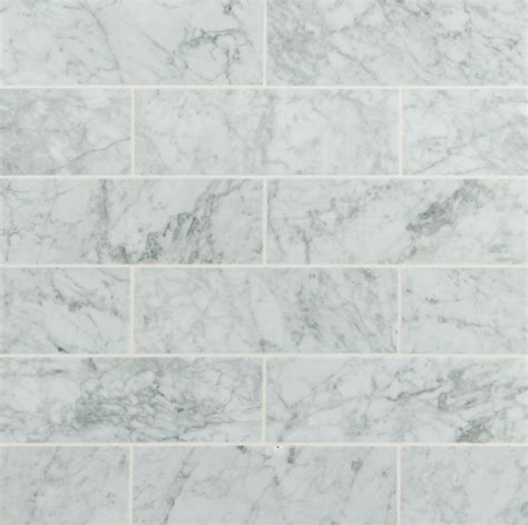 ms international marble mosaic arabescato carrara