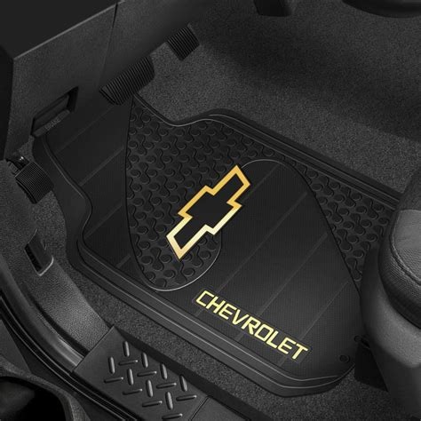 Floor Mats For Chevy Trucks by Plasticolor 174 Floor Mats With Chevy Logo
