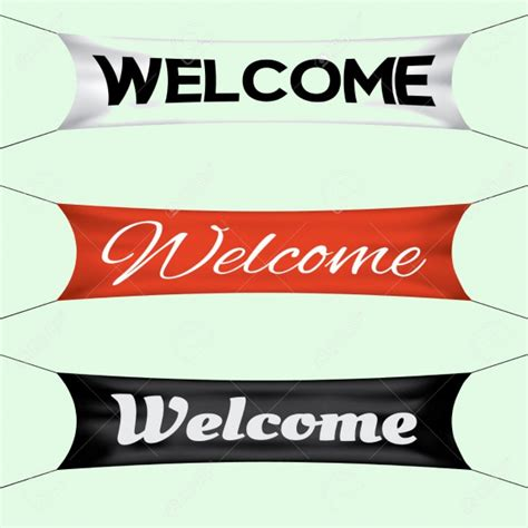 design banner welcome 21 welcome banner designs jpg vector eps download