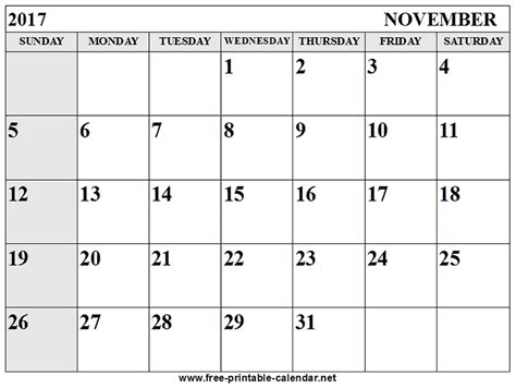 editable november 2017 calendar word pdf monthly 2017 calendar month of november 100 images 2017