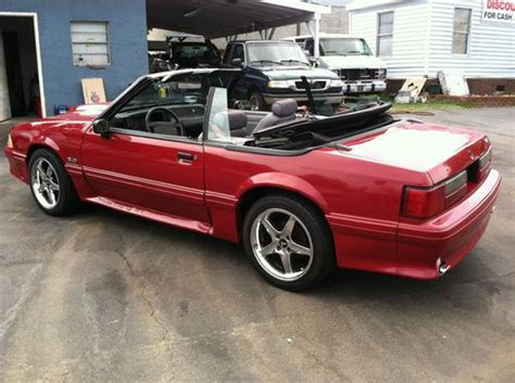 1990 ford mustang 5 0 convertible sell used 1990 ford mustang gt convertible 2 door 5 0l in