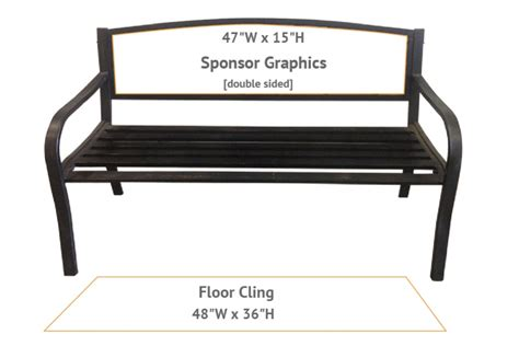 cling bench 28 images art impressions cling rubber st