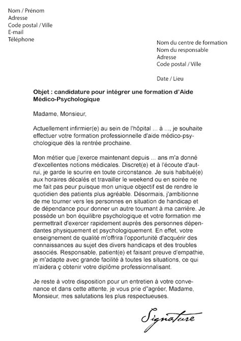 Lettre De Motivation Ecole Educateur Sp Cialis Lettre De Motivation Formation Mod 232 Le De Lettre