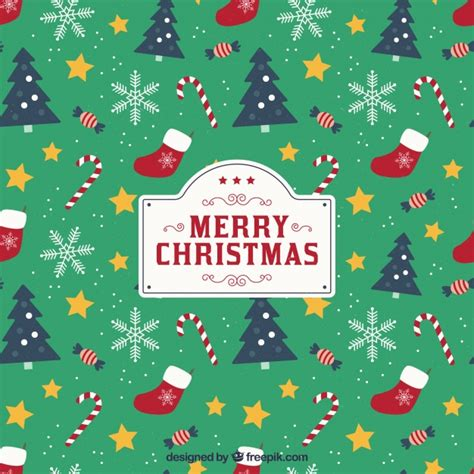 pattern christmas card christmas tree vectors photos and psd files free download