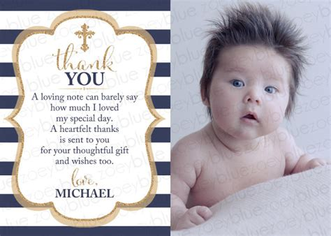 christening thank you card template thank you card templates free sle exle format
