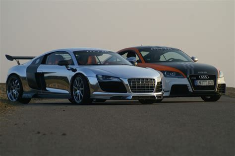 audi r8 and audi tt mtm audi r8 biturbo and mtm audi tt rs exposed
