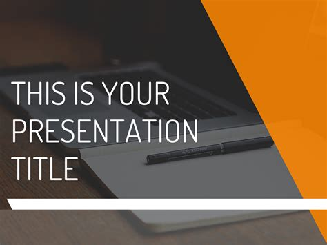 Free Modern And Dynamic Powerpoint Template Or Google Slides Theme Presentation Template