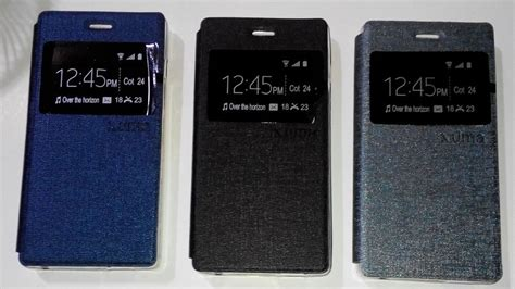 Flip Cover Andromax Q 1 jual leather jual flip cover smartfren andromax