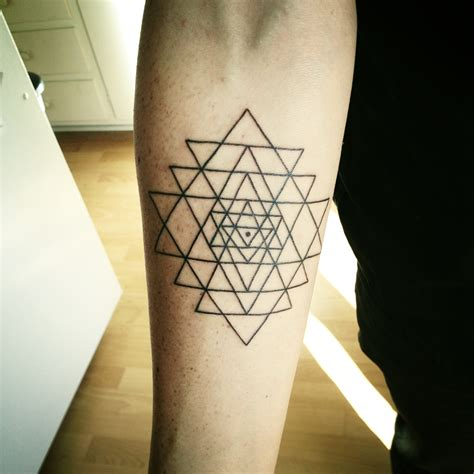 my sri yantra tattoos yantra