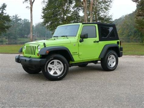 jeep car green lime green jeep wrangler car interior design