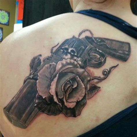 guns and roses tattoos designs ideas and meaning