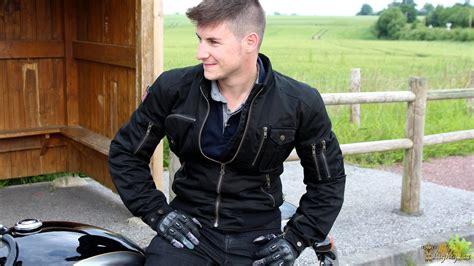 blouson segura sentinel le bomber vintage des motards