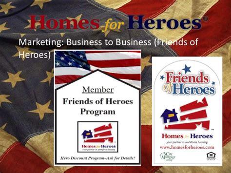homes for heroes program presentation