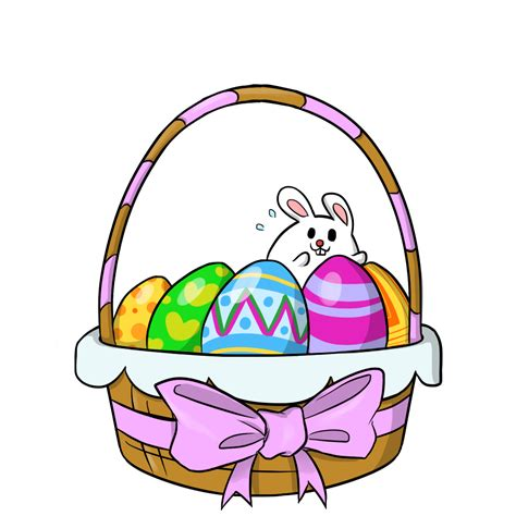 easter clipart free to use domain easter baskets clip