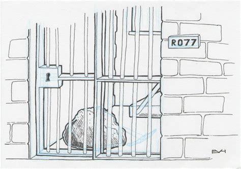 doodle prison october 2009 doodle a day