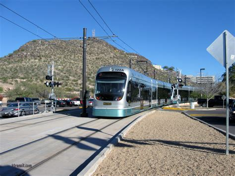 light rail to sky harbor az transit