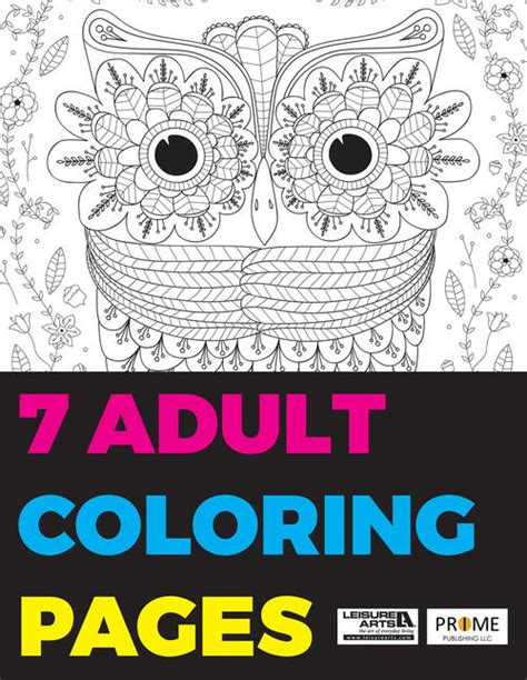 7 coloring pages free ebook favecrafts com